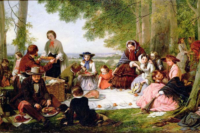 victoriaanse-picknick