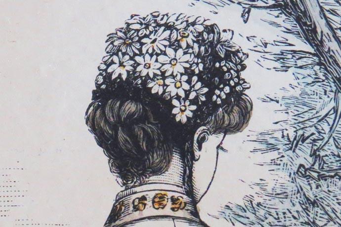 victoriaanse bonnet
