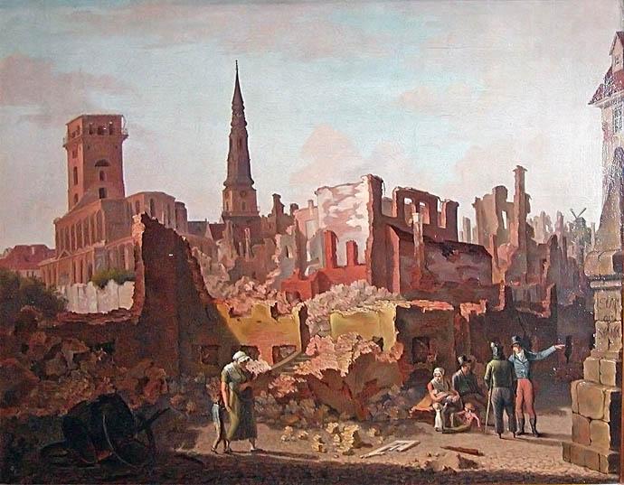 denemarken-copenhagen-aanval-1807