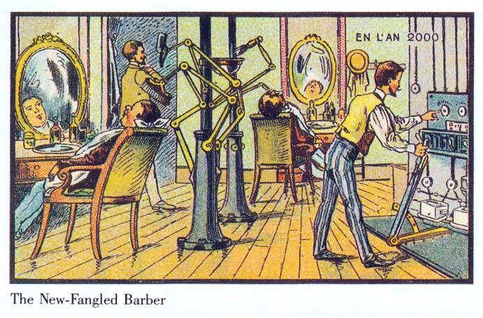 barbier-21ste-eeuw-futuristisch