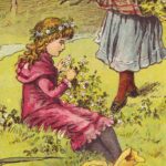 Twee idyllische mei-plaatjes uit de 19e eeuw