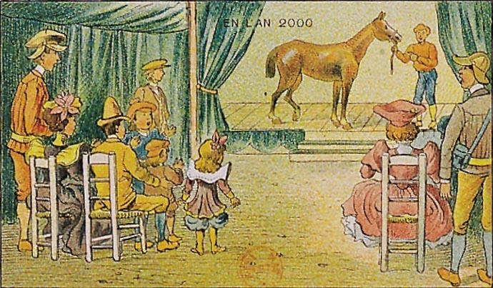 paard-ouderwets-museum-21ste-eeuw-futuristisch