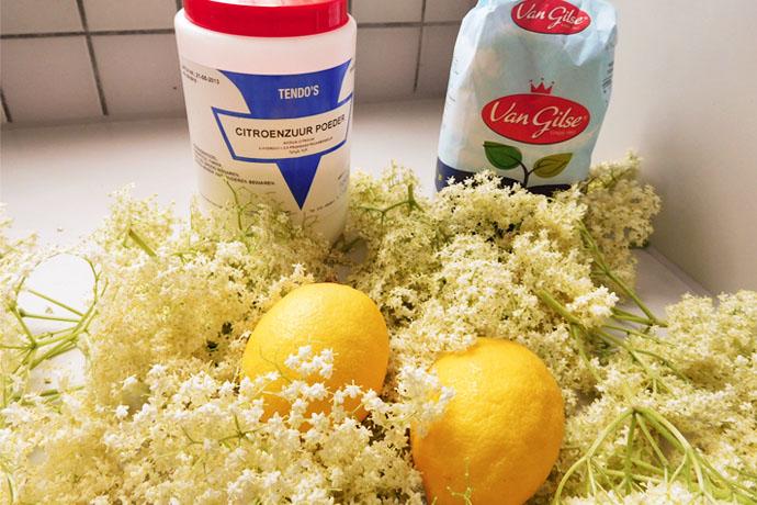 vlierbloesem-limonade-ingrediënten
