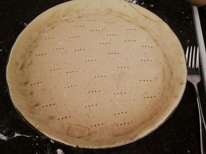 vlaai-deeg-in-pan