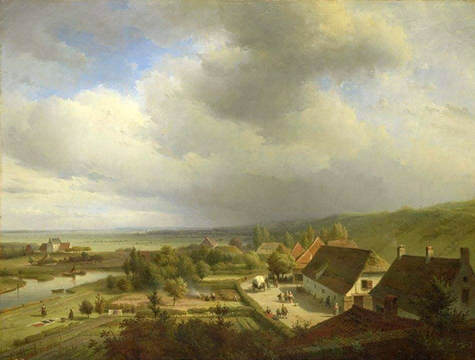wageningen-19e-eeuw