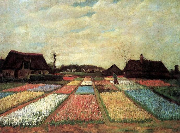 Bollenvelden-Van-Gogh-19e-eeuw