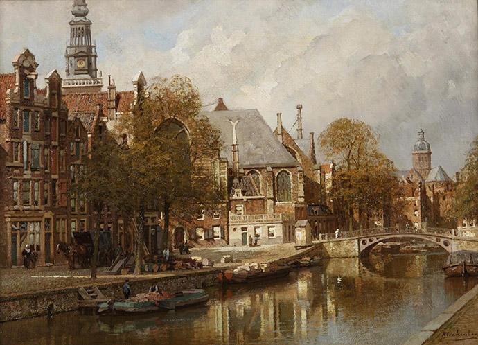 Klinkenberg-Amsterdam-19e-eeuw