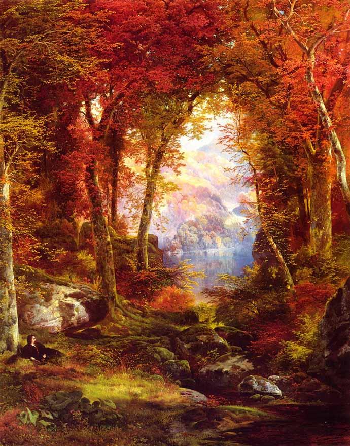 herfst-moran-under-trees