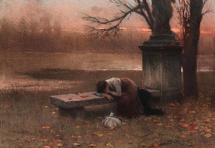 herfst-jakub-schikaneder-eenzaamheid