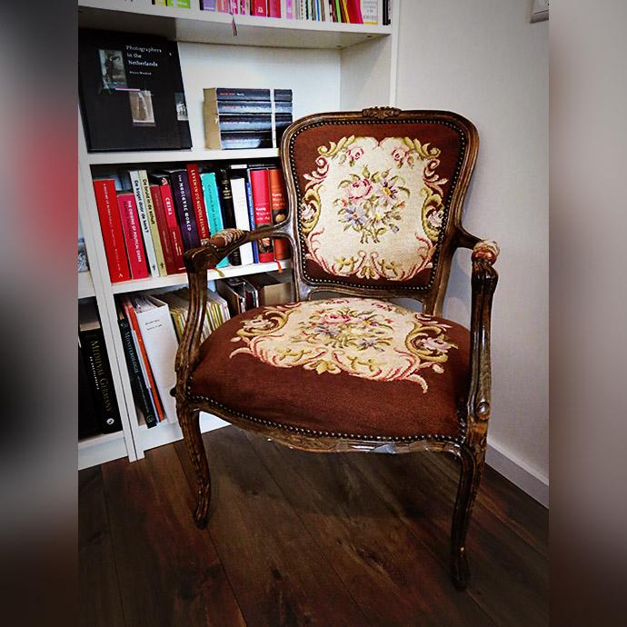 brocante-stoel