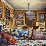 Victoriaans interieur: De woonkamer