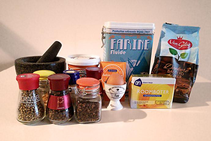 gingerbread-ingrediënten