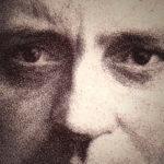 Mysterieus portret van een onbekende man