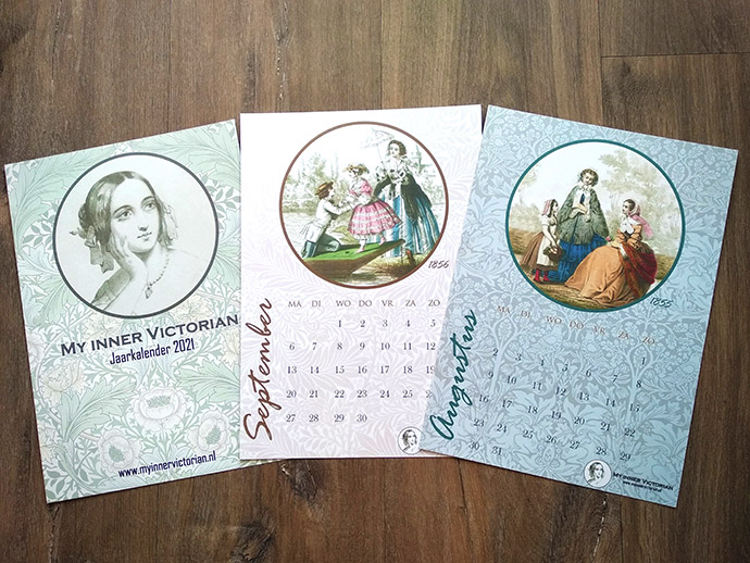 Victoriaanse kalender 2021