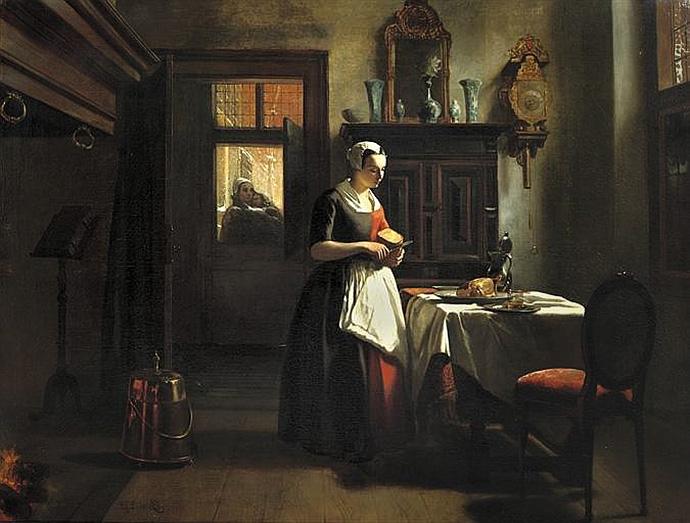 schilderij-huib-van-hove-amsterdams-weesmeisje