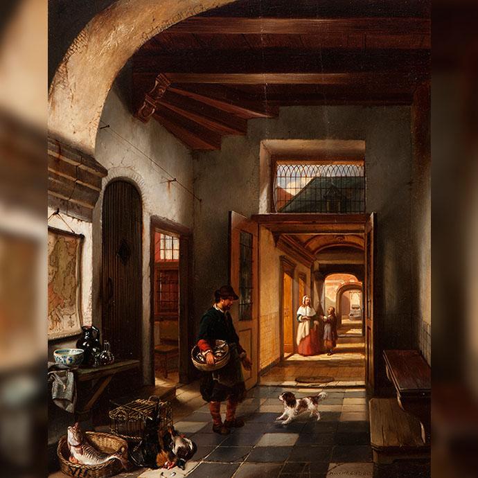 schilderij-huis-17e-eeuw-huib-van-hove