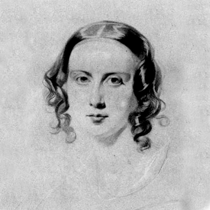 catherine-dickens-portret-schets