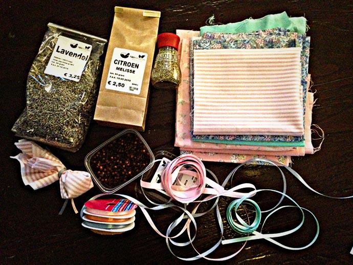 geurzakjes-maken-kruiden-ingrediënten