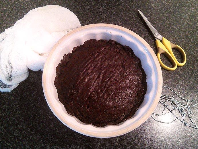 victoriaanse-chocolade-brood-pudding-bakken