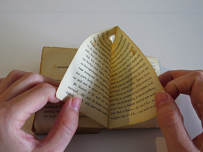 Enkhuizer Almanak 1845 bladzijde