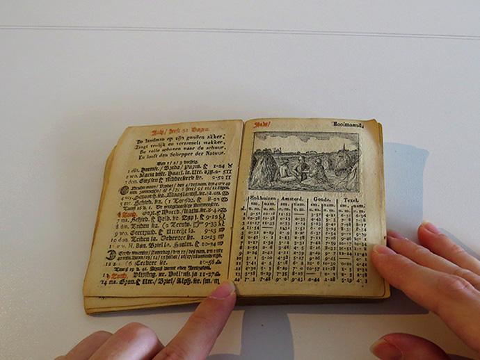 Enkhuizer Almanak 1845 juli