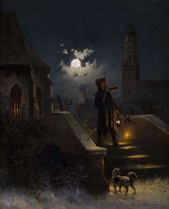 De nachtwachter van Nördlingen Hennings