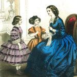 Prachtige victoriaanse jurken uit de lente van 1850