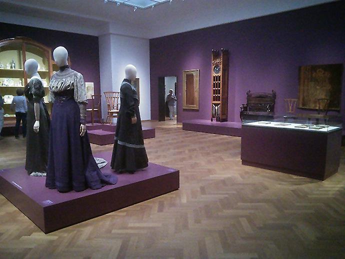 overzicht tentoonstelling art nouveau