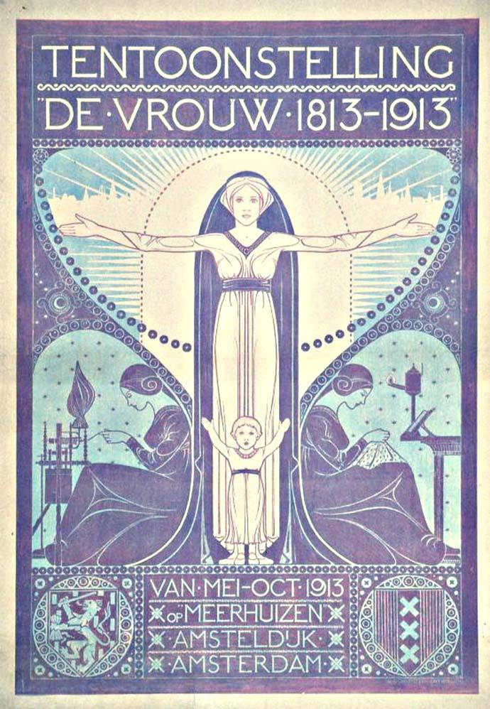 toorop tentoonstelling de vrouw 1813-1913