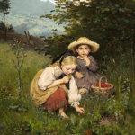 Een victoriaanse tuin voor kinderen