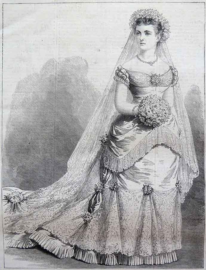 Bruidsjurk voor Louise van Pruisen