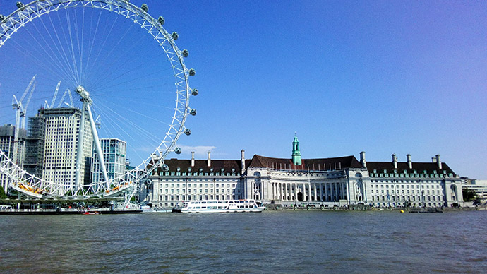 London Eye en oude County Hall
