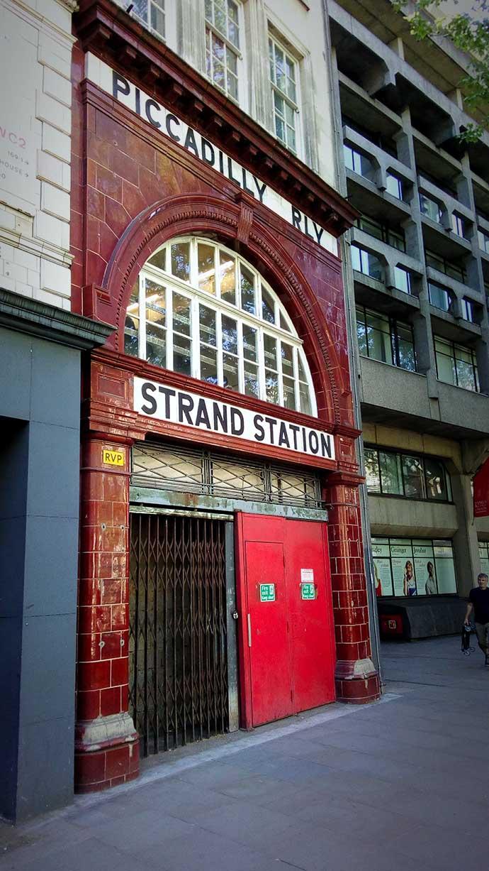Strand Station London
