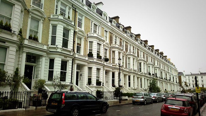 Stafford Terrace in Londen