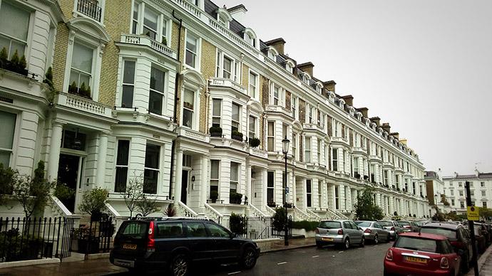Stafford Terrace in Londen