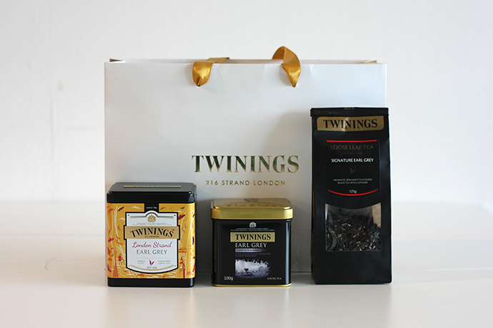 Twinings Tea shopping bag