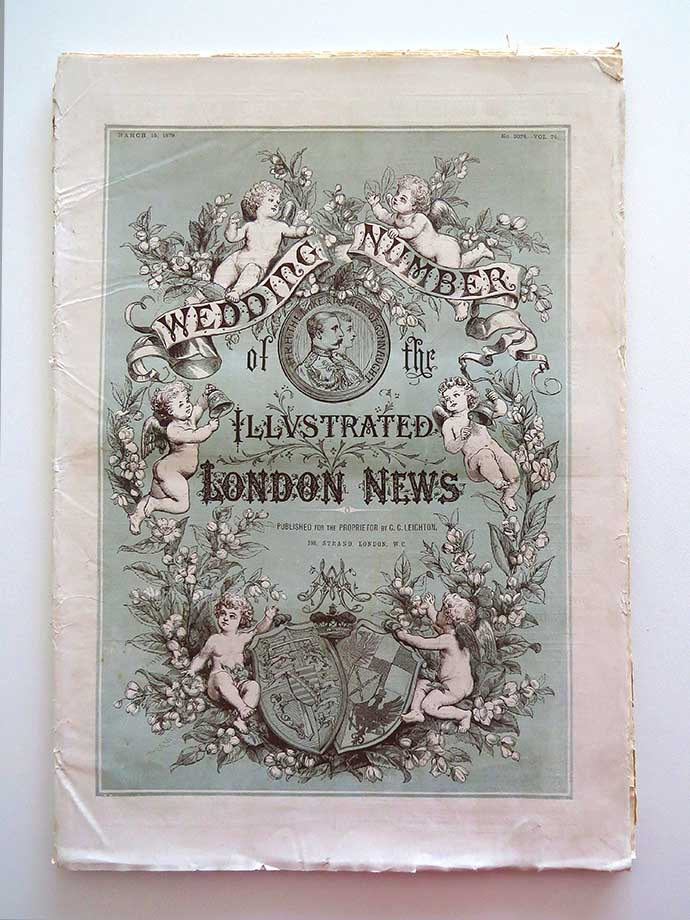 Wedding number of the Illustrated London News, speciale trouwreportage prins Arthur 1879