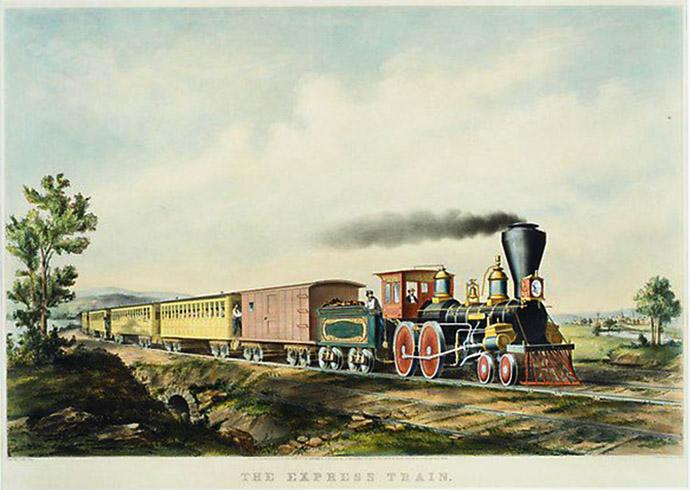 express stoomtrein 1859