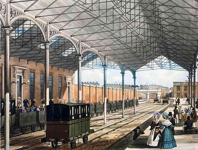 Euston Station 1837