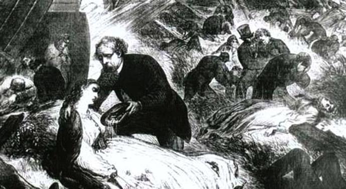 treinongeluk Dickens Staplehurst