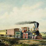 Reizen met de trein in de 19e eeuw