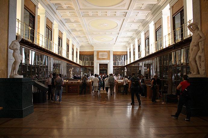 Enlightenment Room in het British Museum