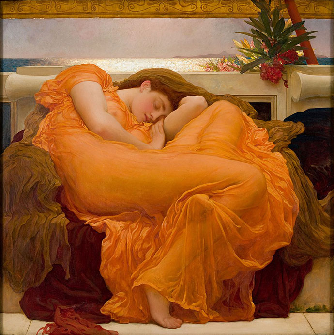 Flaming June Frederic Leighton