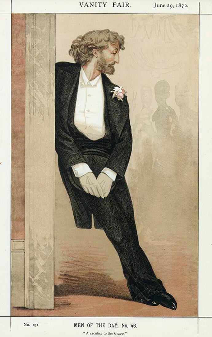 Frederic Leighton in Vanity Fair 29 Juni 1872