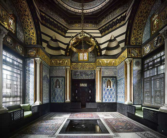 Leighton House Museum Arab Hall. ©The Royal Borough of Kensington and Chelsea