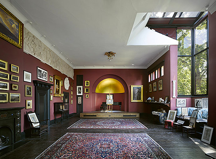 Leighton House Museum Leighton's studio ©The Royal Borough of Kensington and Chelsea