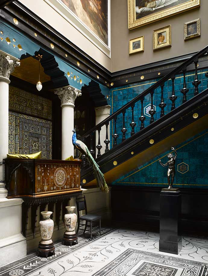 Leighton House Museum Staircase ©The Royal Borough of Kensington and Chelsea