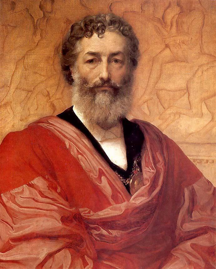 Zelfportret door Frederic Leighton