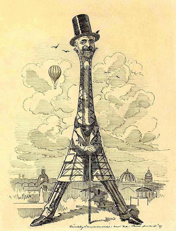 linley sambourne Gustave Eiffel 1889