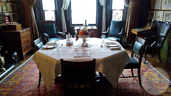 linley sambourne eetkamer dining room